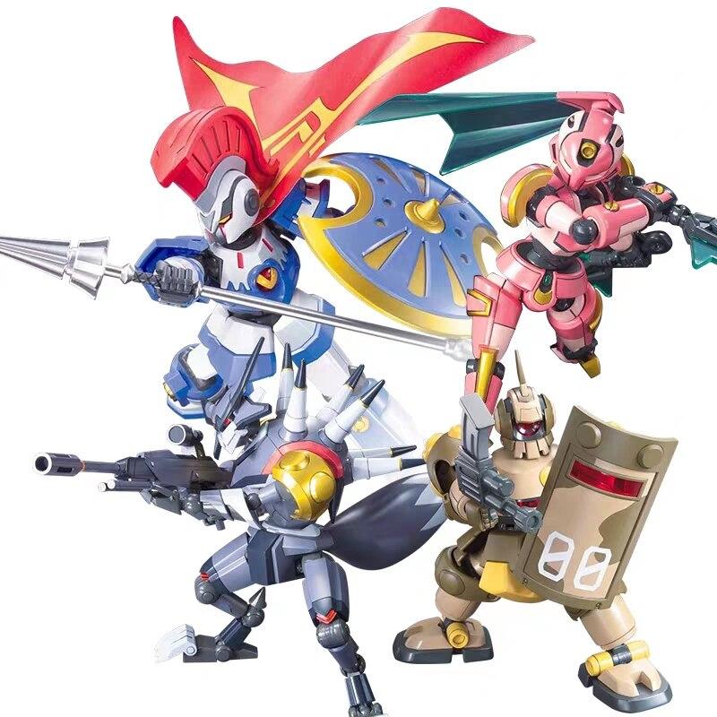 WSTXBD Figurals EMPEROR LBX Original Bandai No 001 Brinquedos ACHILLES Kunoichi THE WARS