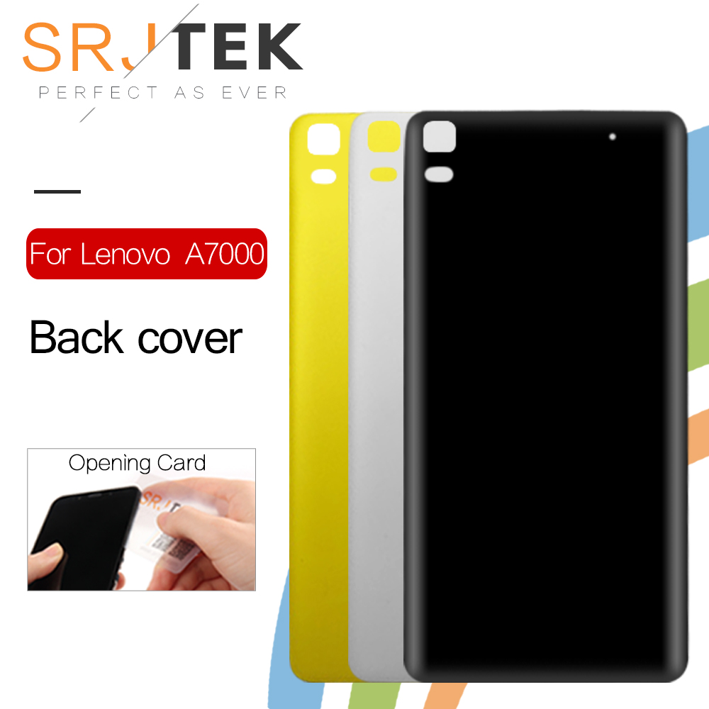 SRJTEK Back Housing For <font><b>Lenovo</b></font> A7000 <font><b>K3</b></font> <font><b>Note</b></font> Back <font><b>Battery</b></font> <font><b>Cover</b></font> Case with Power Volume Button Replacement Parts image