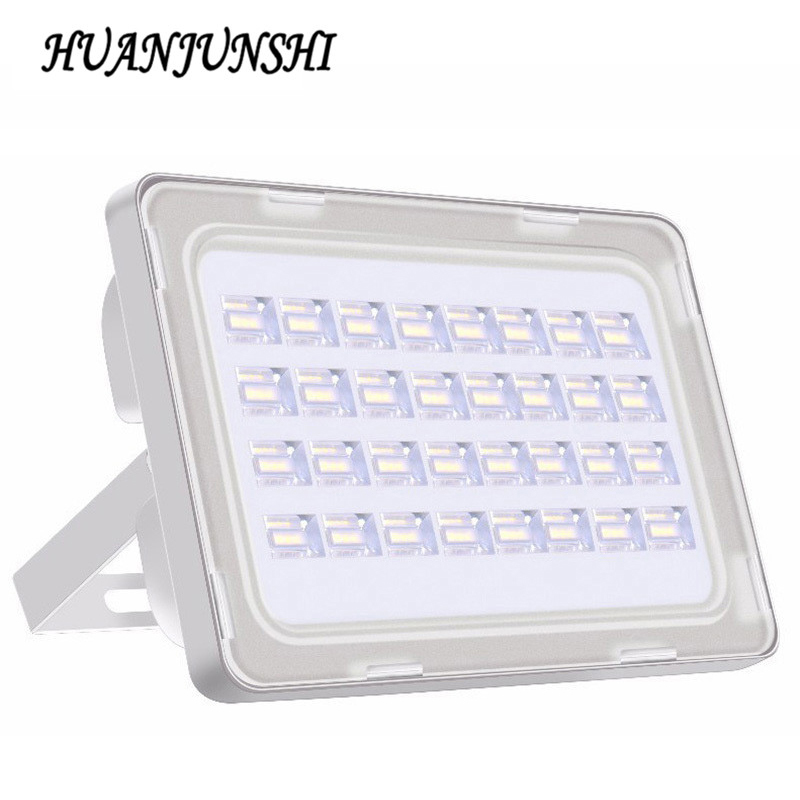 100 W 9000LM LED lumière d'inondation IP65 AC 200-240 V réflecteur éclairage LED Projecteur LED Projecteur éclairage extérieur chaud froid blanc
