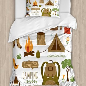 Adventure Duvet Cover Set Camp