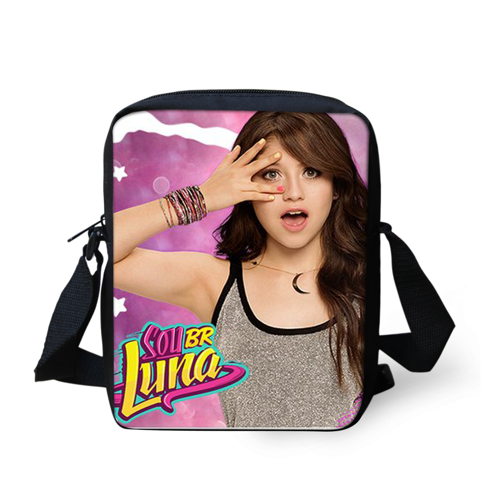 FORUDESIGNS Custom Made Soy Luna Children Hand Bag for Girls Anime Pokemon Mini Messenger Bags TV Show Party Gift Dropshippers ensemble stars 2wink cospaly shoes anime boots custom made