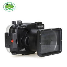 цена на For Fujifilm X-A2 Case 16-50mm Underwater 40m Diving Waterproof Housing Photograph Videography Camera Water Impermeable Cover
