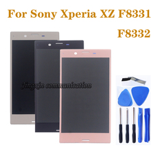 5.2-inch original display for Sony Xperia XZ F8331 F8332 LCD monitor + touch screen digitizer replacement phone repair parts все цены