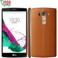 סמארטפון LG G4 H815 H815T H818 H811 H810 Hexa Core 3 GB RAM 32 GB ROM 16.0 MP 5.5 ''4 גרם LTE LG משופץ טלפון נייד G4