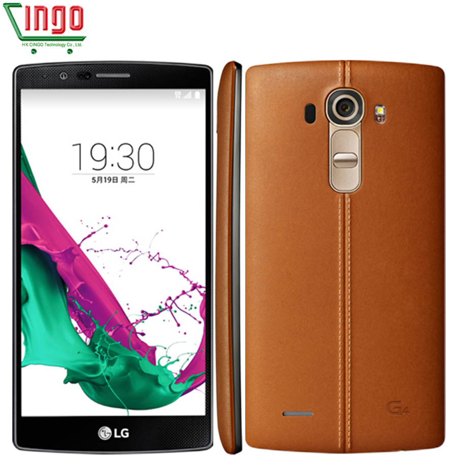 Unlocked LG G4 H815 H815T H818 H811 H810 Hexa Core 3GB RAM 32GB ROM 16.0 MP 5.5'' 4G LTE Refurbished LG G4 Mobile Phone