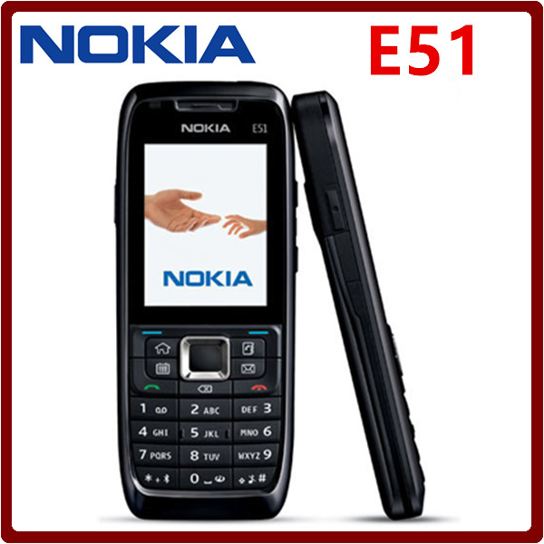 Original Unlocked Nokia E51 Symbian OS 2.0 Inches 2MP Camera 3G 1050mAh 240x320 Bluetooth Refurbished Cellphone(China)