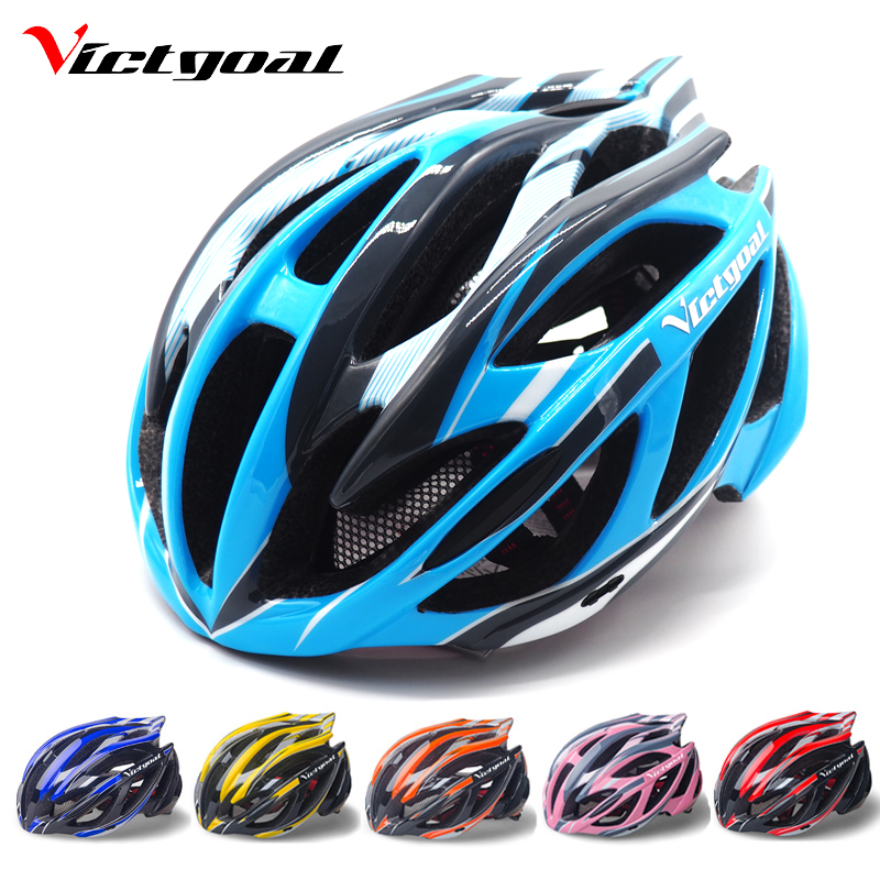 VICTGOAL Bicycle Helmet Men LED Backlight Bicycle Helmet Women Visor Cycling Helmets Road Bike Safety Helmets Cycling Equipment
