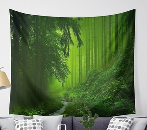 Image 3 - CAMMITEVER Magical Fantastic Forest  Tapestry Wall Hanging Rectangle Wall Hanging Tapestry Decoration Wall Fabric Tapestries