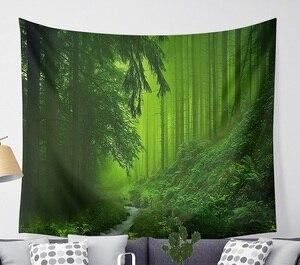Image 3 - CAMMITEVER Magico Fantastico Foresta Arazzo Appeso A Parete Rettangolo Appeso A Parete Arazzi Decorazione Della Parete di Tessuto Arazzi