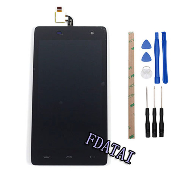 For Homtom HT20 LCD Display Touch Screen 4.7 inch For Homtom HT20 Assembly Repair Part Mobile phone Accessories with Free Tools