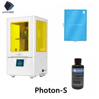 Anycubic Photon S Bundle 3D Printer 3d Dental Jewerly Upgraded Laser SLA/LCD UV Resin Slicer Desktop 2.8'' impresora 3d drukarka