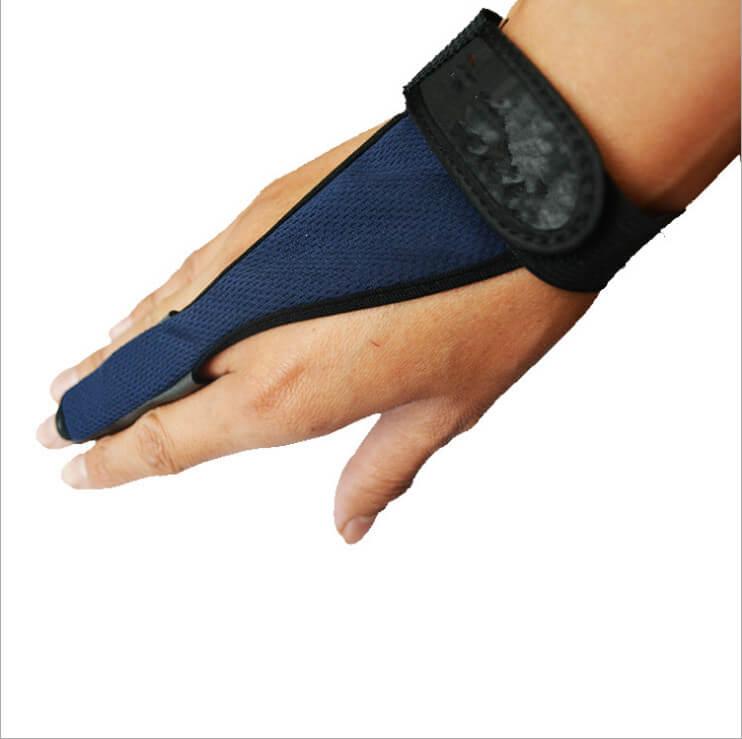 Non Slip Spinning Fishing Glove Single Finger Casting Fishing Glove Adjustable