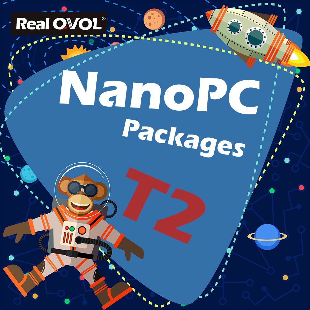 RealQvol FriendlyARM NanoPC T2 Kit Package Quad Core Cortex A9 Development Board S5P4418 Card Computer Onboard