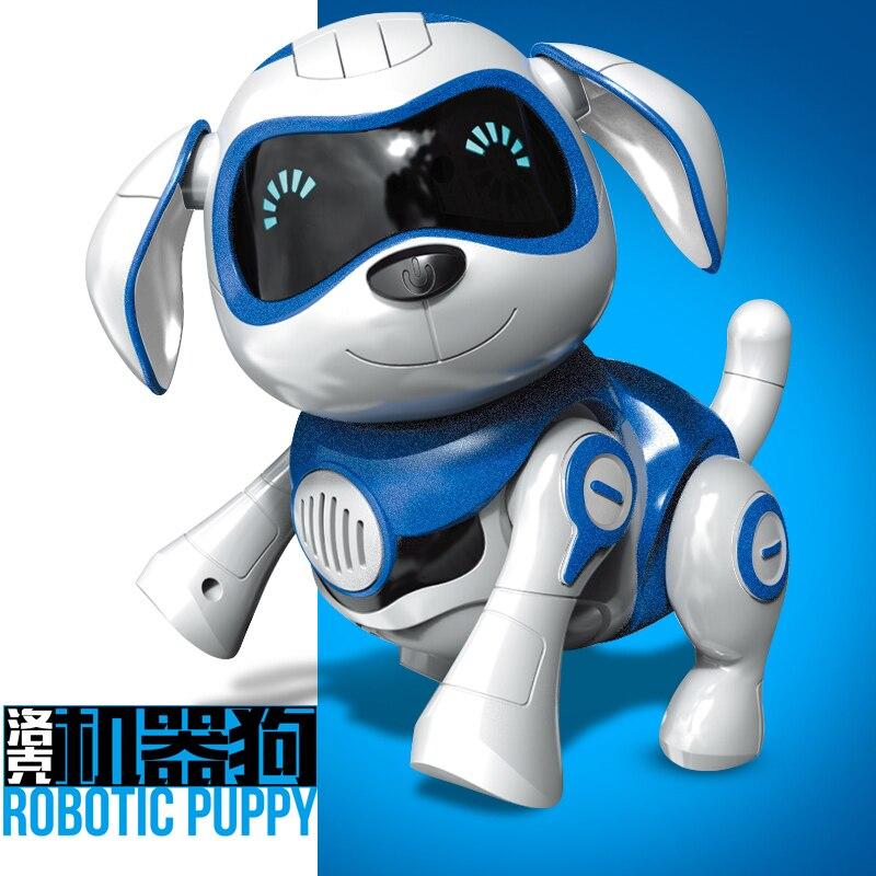 Induction jouet chien contrôle chien intelligent Robot électronique Animal de compagnie programme interactif danse marche Robot Animal jouet geste suivant - 2