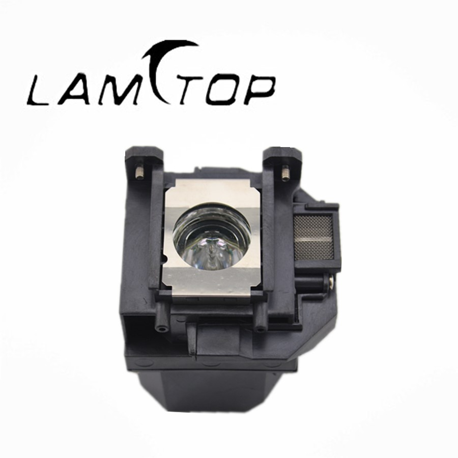 FREE SHIPPING  LAMTOP  180 days warranty  projector lamps with housing   ELPLP53/V13H010L53  for  EB-1900/EB-1920W free shipping new projector lamps bulbs elplp55 v13h010l55 for epson eb w8d eb dm30 etc
