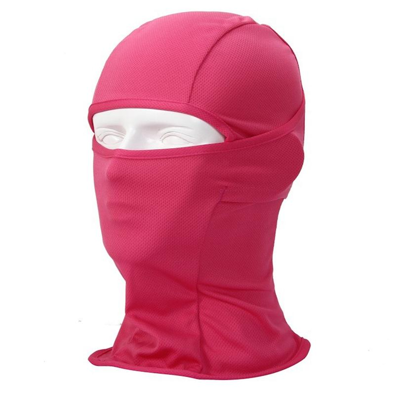 INDJXND Men Balaclava Candy Color Skullies Speed Dry Sport Full Face Mask Beanie Male Tactical Head Cover Cycle UV Protect M030 skullies