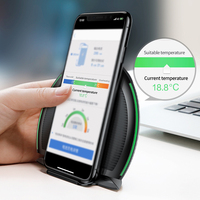Baseus Collapsible Qi Wireless Charger for iPhone 8/X Multifunction Fast Wireless Charging for Samsung S9/S9+/S8 Huawei Xiaomi 1