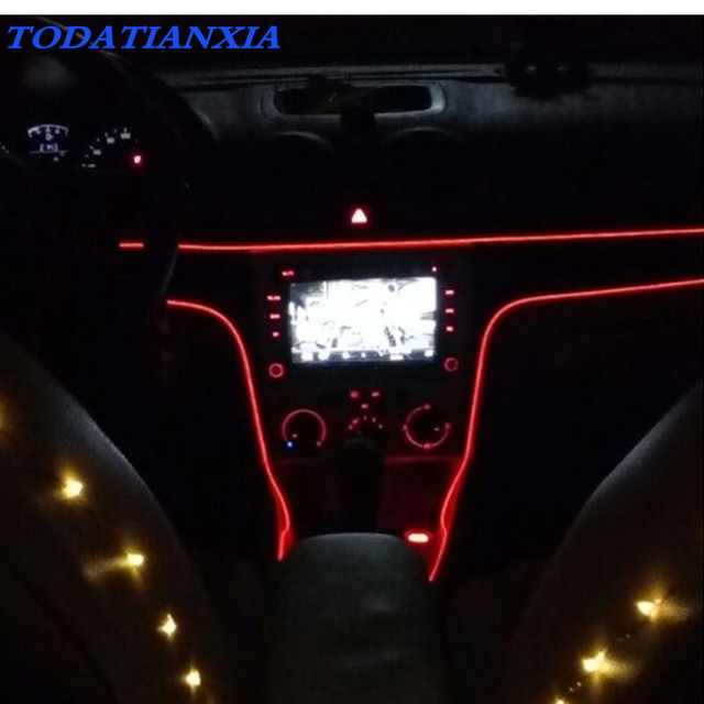 2018 Heat Car Interior Atmosphere Lights Styling For Toyota Avensis Corolla Prius Rav4 Camry Reiz Venza
