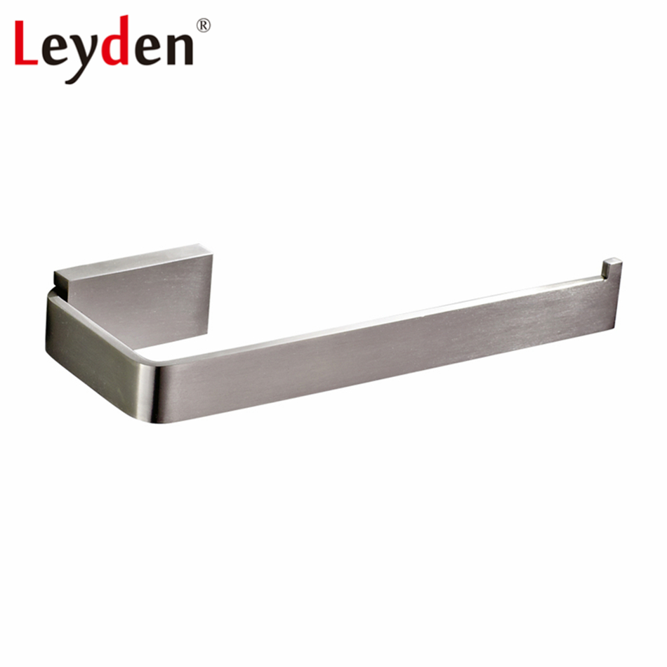 Leyden Towel Ring Square Wall Mounted Lavatory Modern Stainless