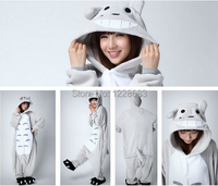 New Arrival Unisex Adult Totoro Onesie Pajamas Cosplay Costume Animal Nightwear Sleepwear Totoro