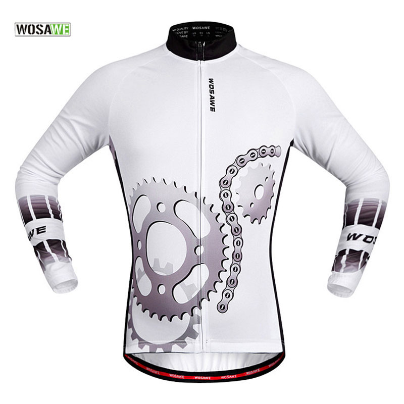WOSAWE Long Sleeved Cycling Sets Breathable Mountain Racing Jersey and Pants  Ciclismo MTB Bicycle Clothing Bike Sportswear-in Cycling Sets from Sports  ... ee91de148