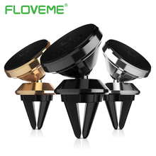 Floveme soporte de teléfono magnético universal de ventilación de aire soporte para teléfono móvil ajustable para Samsung Galaxy S8 Nota 8 s7