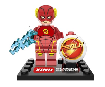 XH 068 20Pcs Building Blocks Avengers FLASH Barry Allen Red Young Sets Justice Figures Super Heroes children Bricks toy