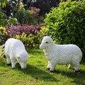 Имитация овец скульптуры животных креативные Colophony ремесла внутренний двор предметы интерьера G1062