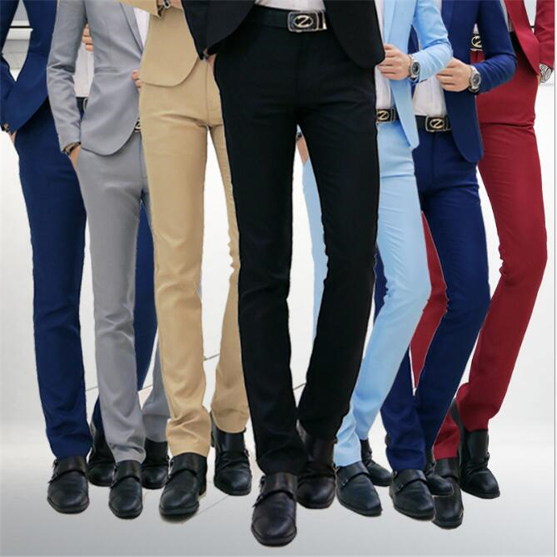 Leisure-Pants High-Quality Men's Brand New 28-42