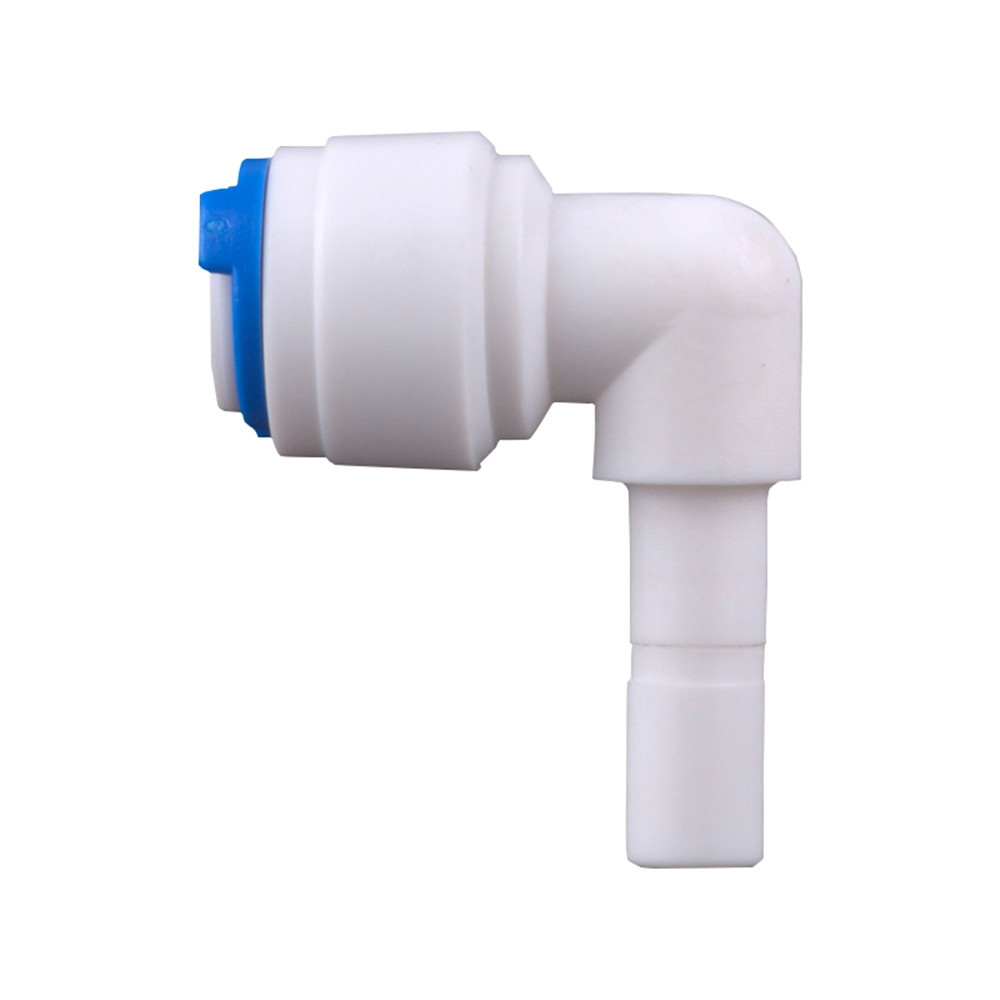 RO Water Plastic Pipe Fitting Elbow 1/4