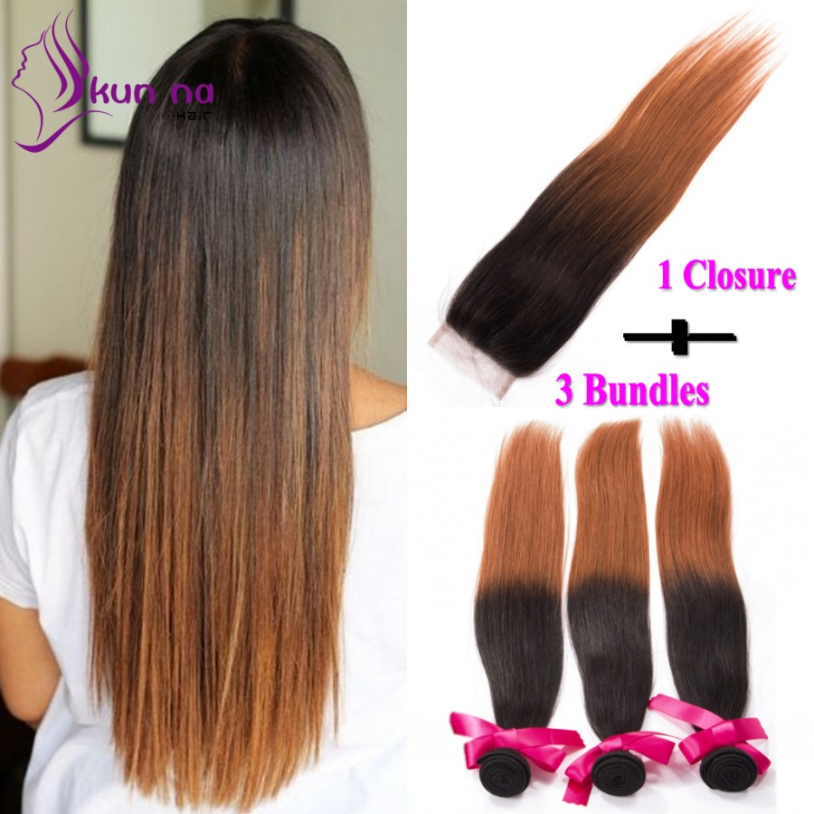 Buy Cheap Bundles With Closure Brazilian Virgin Human Hair
