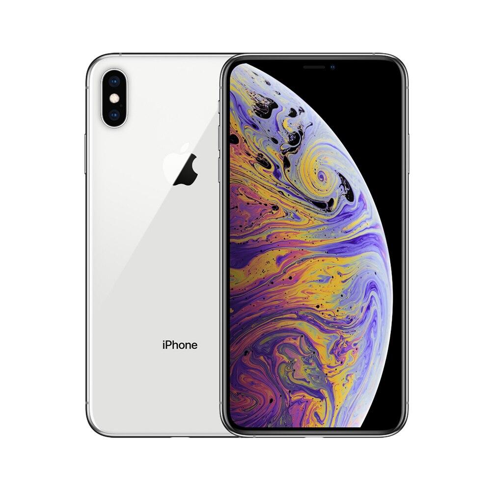 Apple iPhone XS Max 64 gb/256 gb/512 gb (Versão DOS EUA) | 6.5 polegada de Tela Grande 4G Lte Telefone Da Apple Inteligente