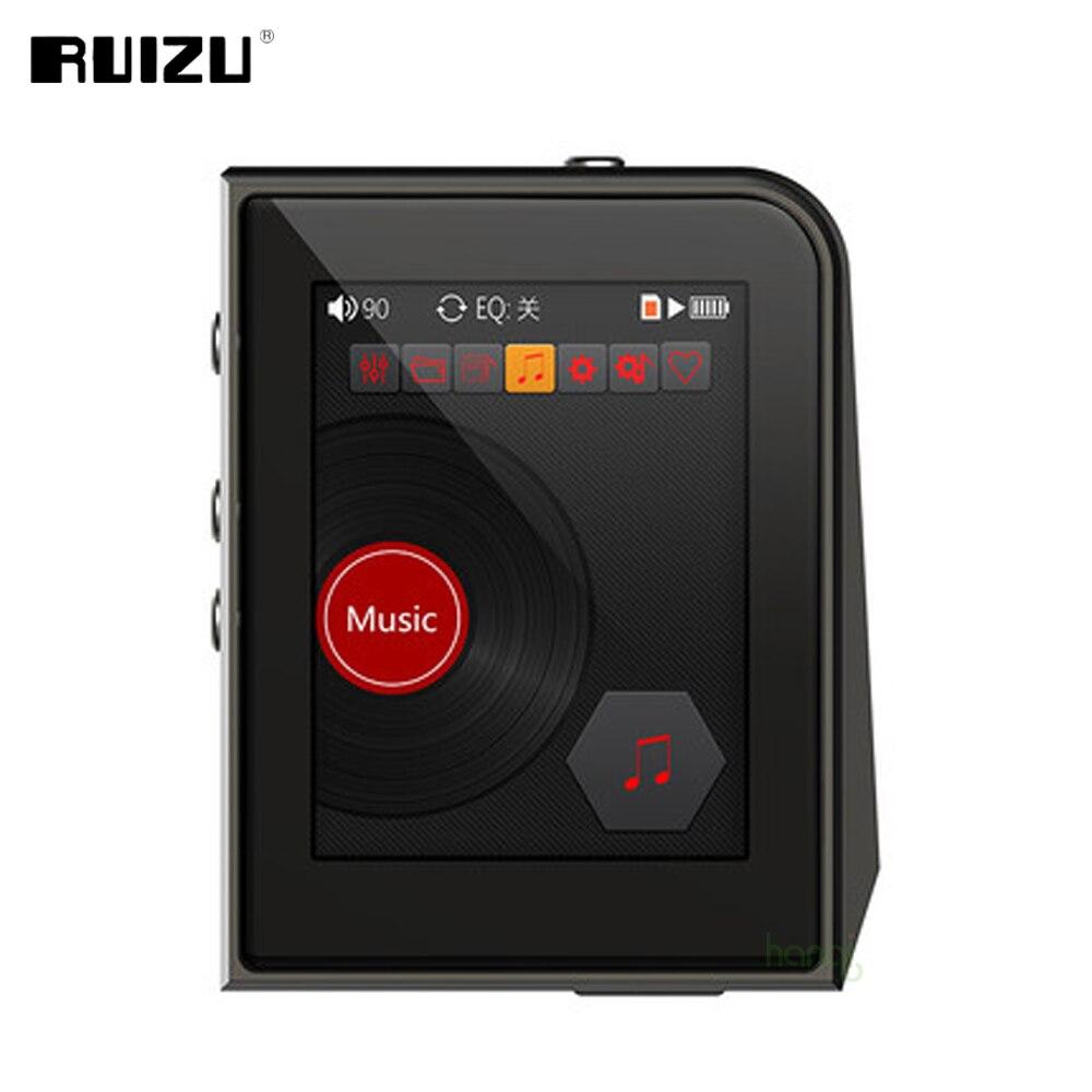 2017 Original RUIZU A50 HD sans perte Mini Sport lecteur MP3 avec 2.5 pouces écran Hifi lecteur de musique MP3 Support 128G TF carte/DSD256