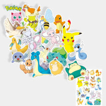 20pcs Pokemon Pikachu Sticker Notebook Luggage Suitcase Sticker(China)