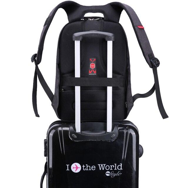 Tigernu Brand Anti Theft Design Men Backpack Notebook Backpack Women 14 15.6 Inch Backpack Leisure Travel Mochila Feminina 5