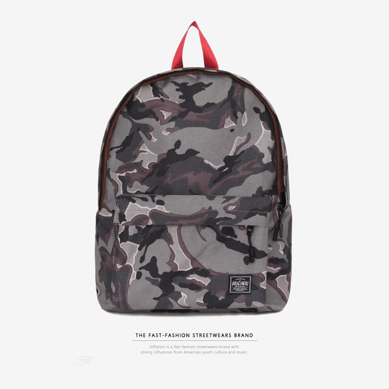 INFLATION New designer boys school bags women brand backpack men s shoulder  bag fashion camouflage backpacks 173AI2018-in Backpacks from Luggage   Bags  on ... f769e6fbc4
