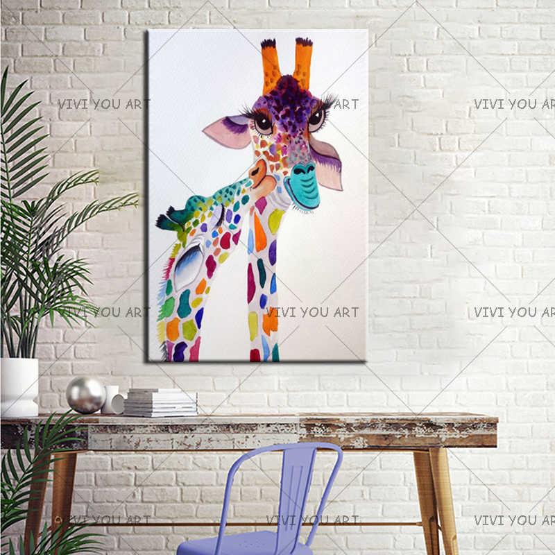 Волк абстрактный любовь живопись домашний декор живой классическая холст печать настенное искусство