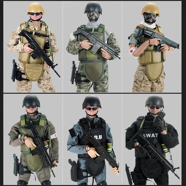 aliexpresscom buy 12quot 16 swat black uniform military