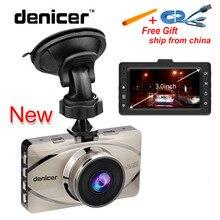 Denicer Видеорегистраторы для автомобилей Регистраторы Full HD 1080 P видео Регистраторы G-Сенсор Камера Automovil 170 градусов Автомобильный регистратор Ночное видение автомобиля cam