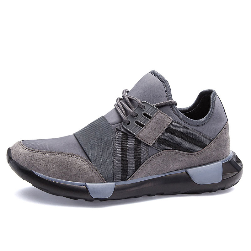 New Arrival Men Shoes Students Over Foot New Running Shoes Unique Shoe Tongue Design Sport Shoes Outdoor Sneakers Male Boots