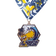 Manufacturers can customize the surf competition medals hot sale engraving plating medal
