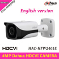 4MP Dahua HDCVI Камеры Открытый Водонепроницаемый IP67 HDCVI Камеры WDR ИК Пуля Камеры ИК Расстоянии 40 м 3.6 мм фиксированной объектив HAC-HFW2401E