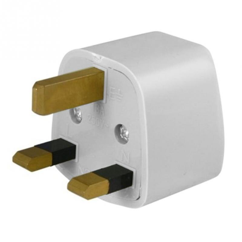 Universal Us To Uk Plug Adapter Grounded Universal Plug