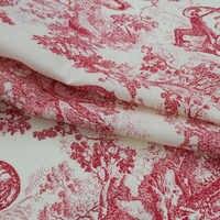 Os animais da floresta de puro algodão tecido para o vestido de bazin riche getzner telas ткани tissus africano tissu ткань хлопок фатин фетр DIY