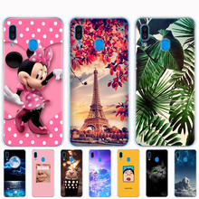 For Samsung A30 Cover phone case cover for Galaxy A 30 SM-A305F A305F A305 Case bumper Silicone Soft TPU coque paint