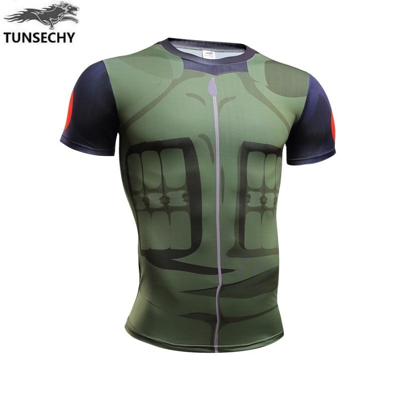 Original TUNSEVHY brand Sasuke t-shirts Men Tee Anime Naruto Uchiha Family Logo Sharingan Eye Symbol Cosplay armor T-shirt