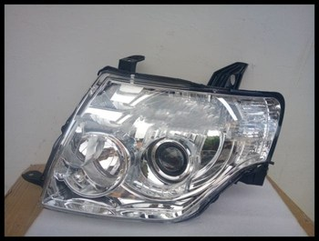Qirun halogen headlight assembly for Mitsubishi Pajero V93 V97 V87