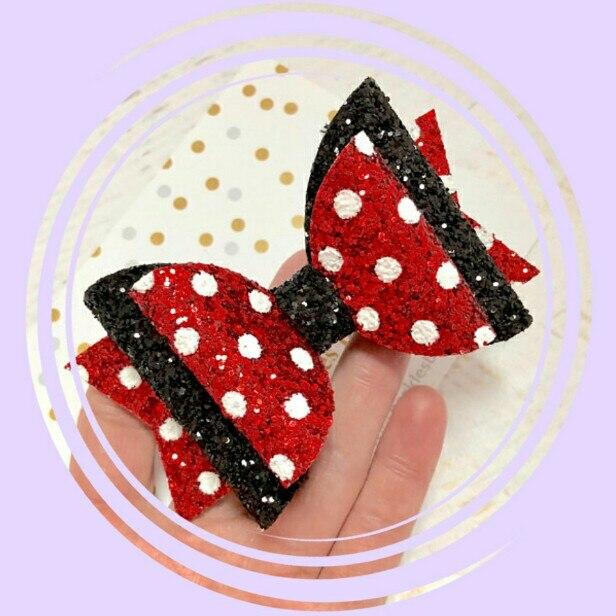 Thumblina Princess Glitter Bow Sparkle Hair Clip For Women Girls Hairpin Children Kids Barrettes Hair Accessories