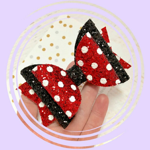 Thumblina Princess Glitter Bow Sparkle Hair Clip For Women Girls Hairpin Children Kids Barrettes Hair Accessories