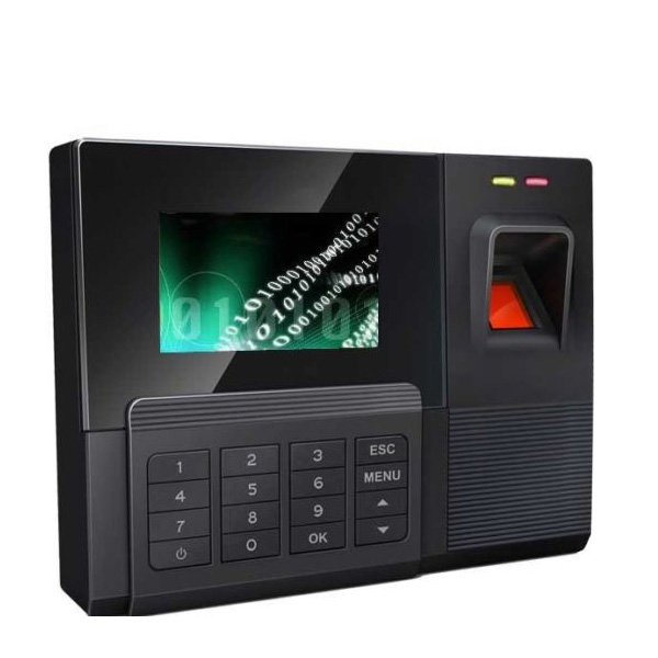 Large Capacity RFID Card Reader Employee Time Clock Recorder Biometric Fingerprint Time Attendance USB Transfer Data